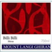 Billi Billi Shiraz
